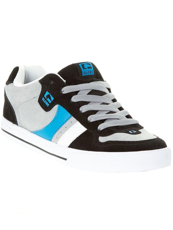 Globe Black Grey Blue Encore-2 Shoe
