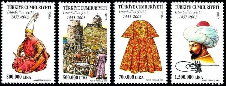 TURKEY 2003, 550TH ANN. OF THE CONQUEST OF ISTANBUL MNH