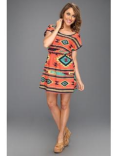 Gabriella Rocha Charline Aztec Print Dress