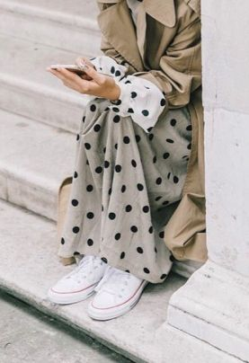 Polka dot Outfit | @andwhatelse