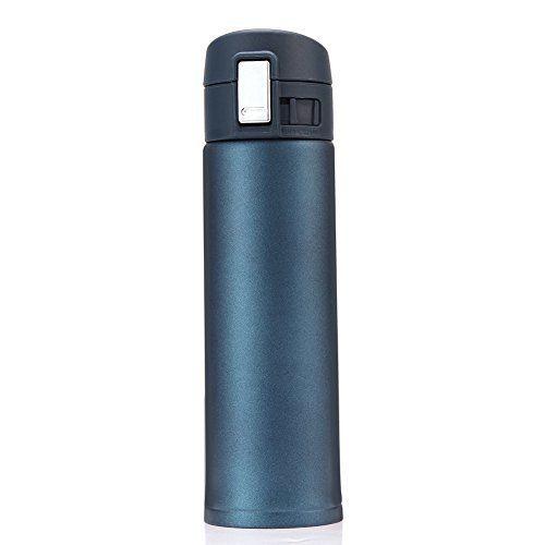 GYOYO 500ml Bouteille isotherme, Tasse thermique, mug isotherme, tasse café, Bouteille de thé, bouteille d'eau en acier inoxydable…