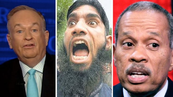 "According to Bill O'Reilly and Juan Williams we shouldn't have drawing contests that mock Mohammed because that'll ""unnecessarily"" get Muslims miffed."