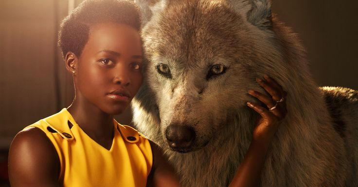 Disney's 'Jungle Book' Portraits Pair the Cast with Their Animals -- Idris Elba, Scarlett Johansson, Lupita Nyong'o and more pose with their characters in a new series of 'Jungle Book' photos. -- http://movieweb.com/disney-jungle-book-movie-2016-cast-character-photos/