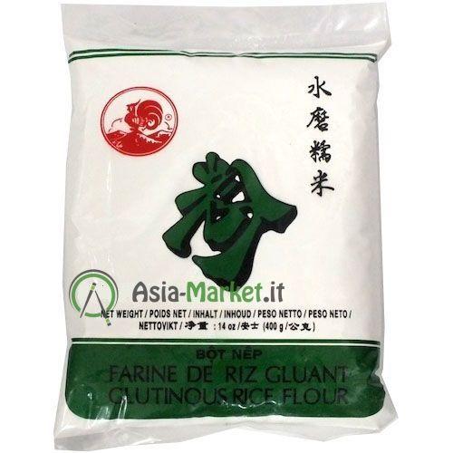 Farina di riso glutinoso - Cock brand 400 g.