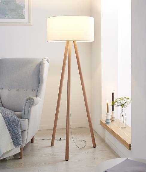 Wohntrend Scandi Style   Jetzt online bei TCHIBO   Stehlampe, Lampe, Stehlampe wohnzimmer