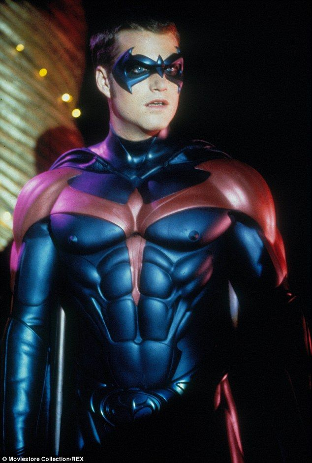 Back In The Day Chris O Donnell Played Robin In Batman