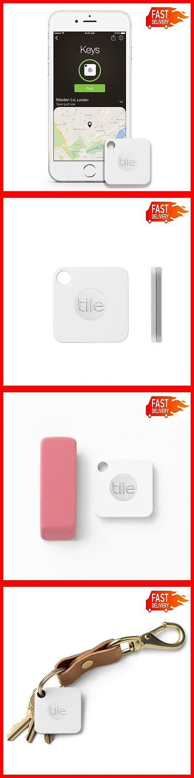Tracking Devices: Tile Mate Key Finder Bluetooth Phone Tracker Find Anything Ring Locator, 1 Pack -> BUY IT NOW ONLY: $33.99 on eBay!