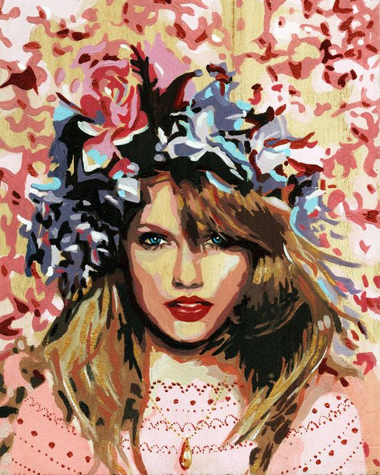 T.Swift Art Print | Community Post: 13 Fabulous Gifts For The Taylor Swift Fan In Your Life