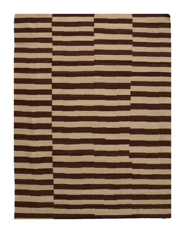 kelim - organic lines 1115 3.50 x 2.50m Composition Wool on Cotton Hand-woven Flat pile Was R19 250 - 50% Now R 9625