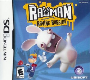 Rayman Raving Rabbids - Nintendo DS Game Includes original Nintendo DS game cartridge and may include case and manual. All Nintendo DS games play on the Nintendo DS, DSlite, DSi, DSXL systems. All DK'