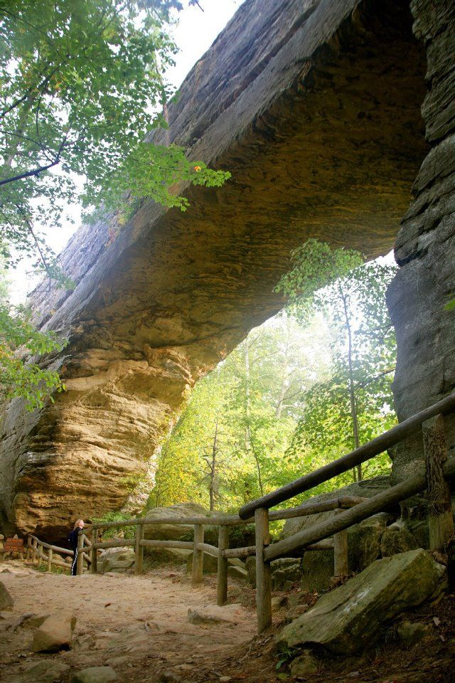 Natural Bridge State Park, Kentucky  this state park is beautiful. happy to have visited this awesome piece of nature.