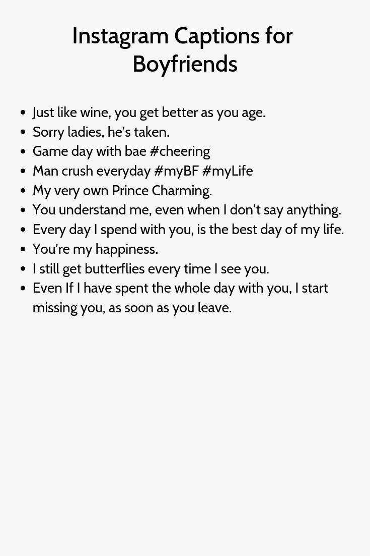 Instagram Captions Boyfriend in 9  Instagram captions