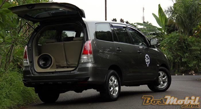 Modifikasi Toyota Kijang Innova SQ : Referensi Untuk Konsumen