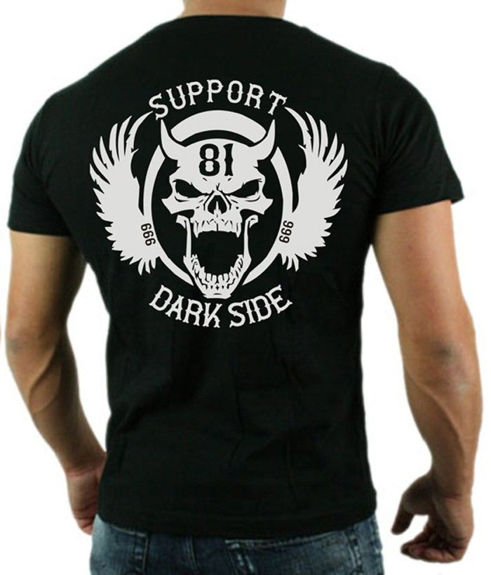 SUPPORT 81 Dark Side T-Shirt Gents T-Shirts | 81 supporter ...