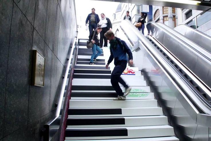 Rotterdam Centraal krijgt pianotrap - Uitagenda Rotterdam