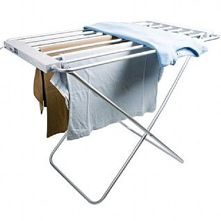 Coopers of Stortford Lightweight Heated Clothes Airer Dryer