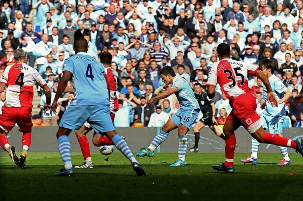 Aguerooooo ... the greatest moment in Premier League history that gave MCFC their first Premiership Title win in 2012