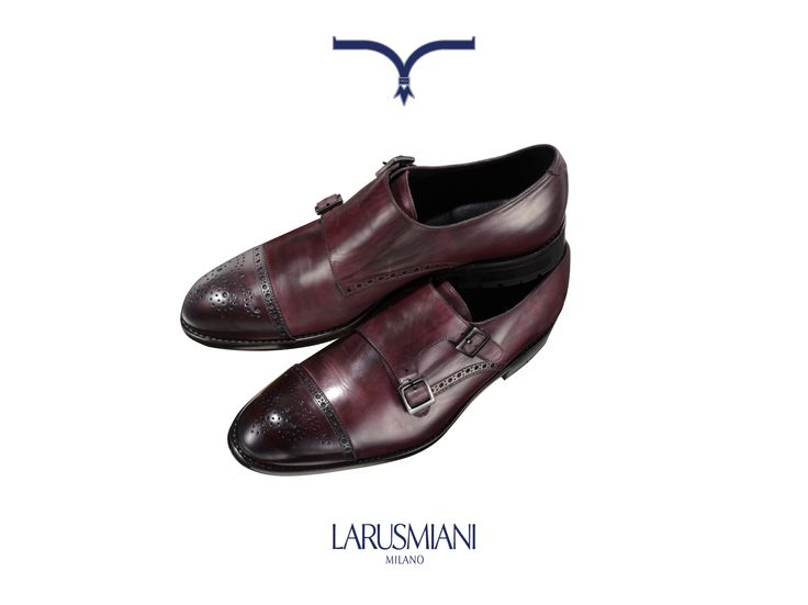 Larusmiani Christmas Wishlist - #Man FW2013  Handmade classic double buckle #shoe in antiqued calf skin. For someone special. #christmaswishlist #viamontenapoleone www.larusmiani.it