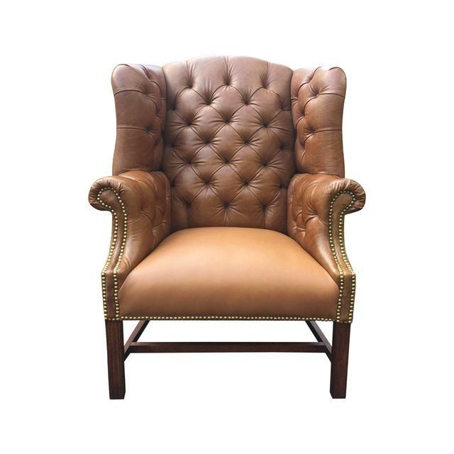 Image of Vintage Chesterfield Chair