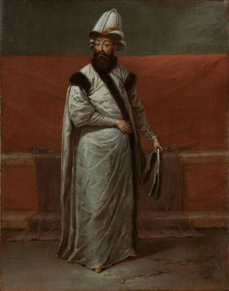Nevşehirli Damat Ibrahim Pasha served as the Grand Vizier of the Ottoman Empire between the years 1718 and 1730.