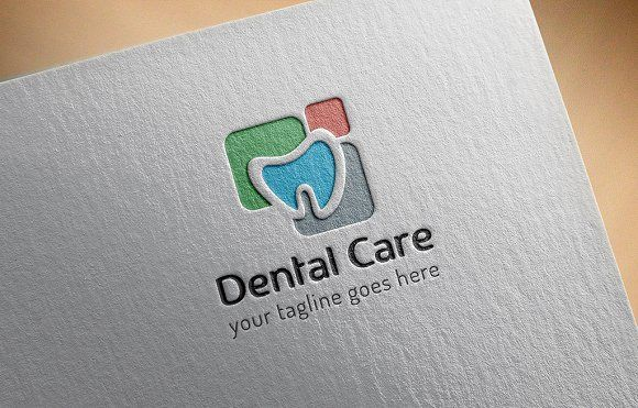 Dental Care Logo by GladicMonster on @creativemarket