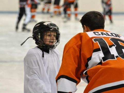 The American Special Hockey Association gives people of all ages and abilities a chance to learn and grow by playing hockey.
