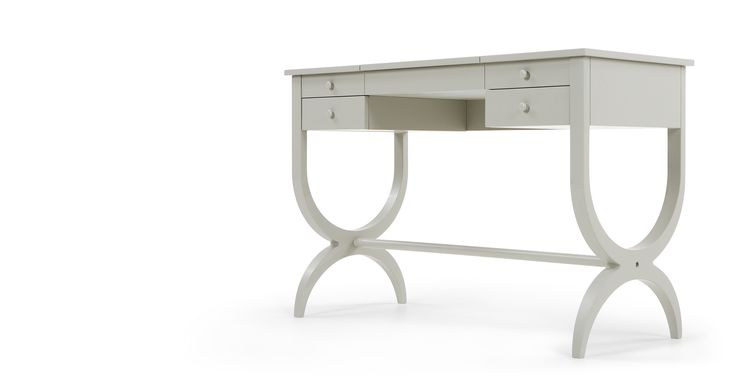 Leila Dressing Table, Grey