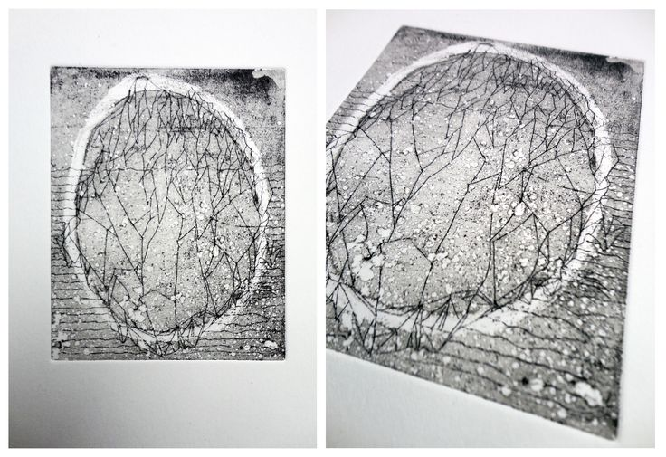 drypoint/etching