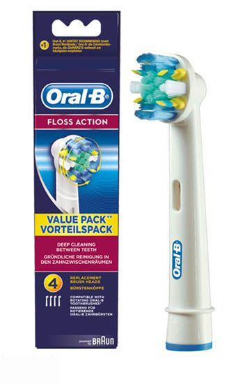 Oral-B Floss Action Brush Head 4 Oral-B Floss Action Brush Head 4: Express Chemist offer fast delivery and friendly, reliable service. Buy Oral-B Floss Action Brush Head 4 online from Express Chemist today! (Barcode EAN=4210201849575 http://www.MightGet.com/january-2017-11/oral-b-floss-action-brush-head-4.asp