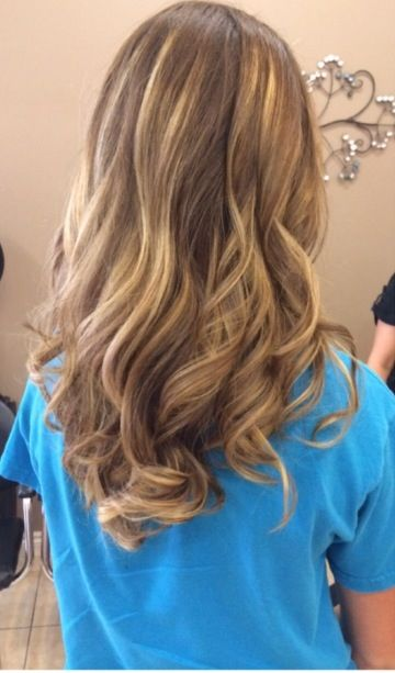 Dirty Blonde with Blonde ombré highlights!!! #blondeombre ...