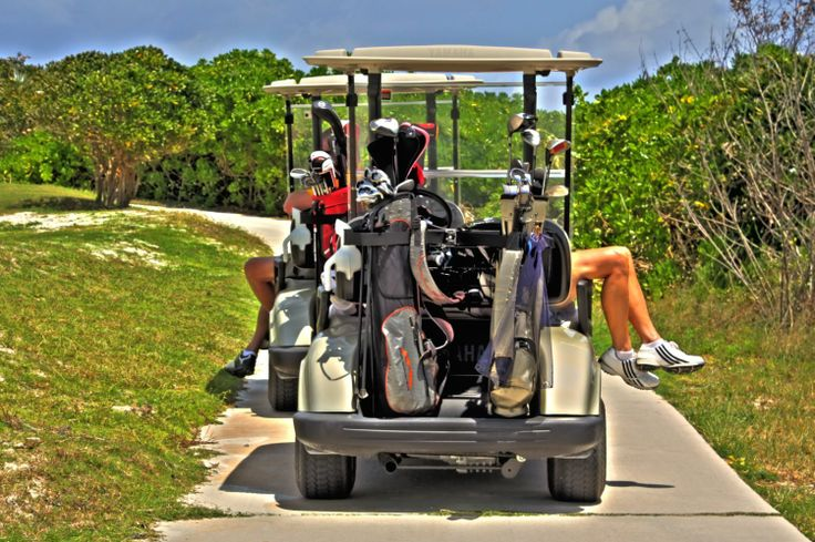 2000 Sandals Grand Bahamas - a lazy day of golf!