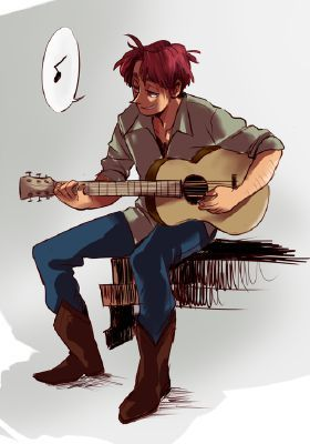 2p America playing the guitar <<< I play the guitar also it's fun