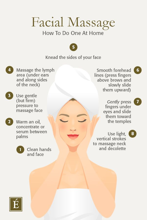 How To Do A Facial Massage At Home In 2020 Facial Massage Eminence Organic Skin Care Facial Skin Care