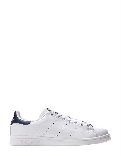 ADIDAS STAN SMITH WHITE WHITE DARK BLUE-footwear-AREA 51