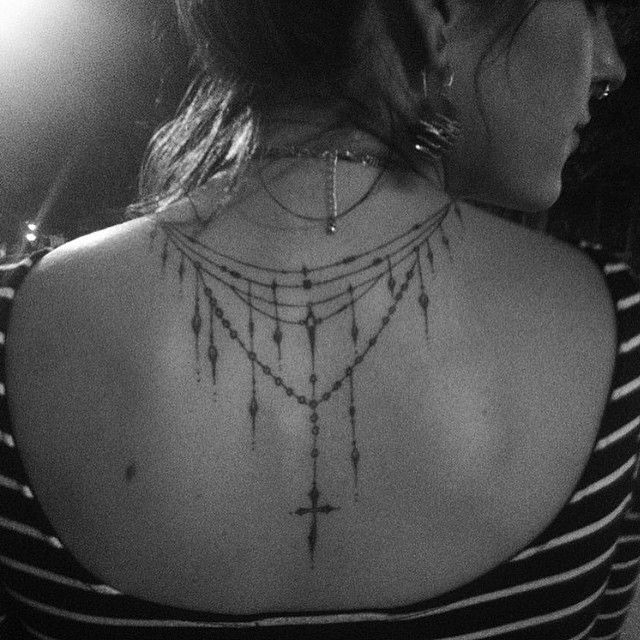 Thanks for this sweet pic of @msladygrace and her lovely tattoo I got to do last…