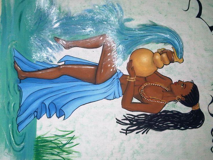 diosa africana del gua
