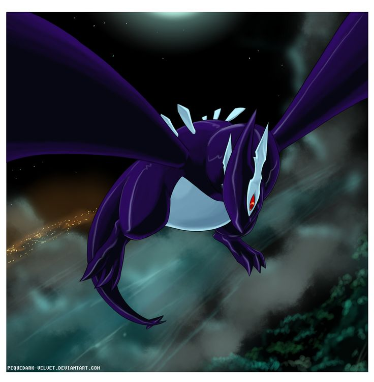.:Shadow Lugia:. by PEQUEDARK-VELVET on deviantART