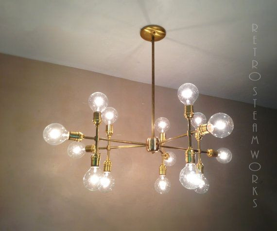 Modern contemporary light piano light mid century multiple