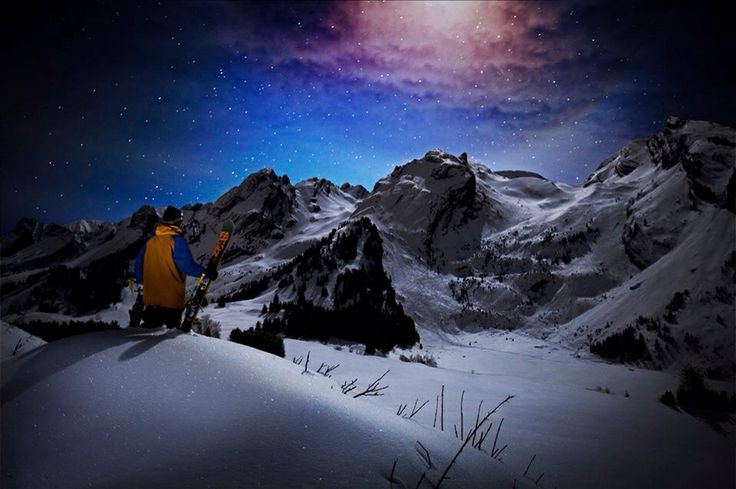 Candied Thovex by night
