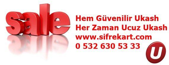 Ukash al kazançlı kal ve güvende ol. http://www.sifrekart.com her zaman yanınızda