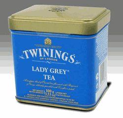 Twinings Lady Grey - 3.53 oz. Loose Tea Tin  I swear, I love the tea itself: I don't just love the colour of the tin!