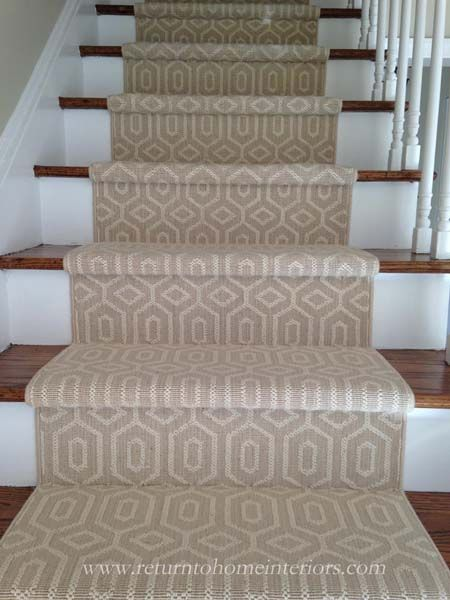 How to choose the right stair runner for your house on weewestchester.com.