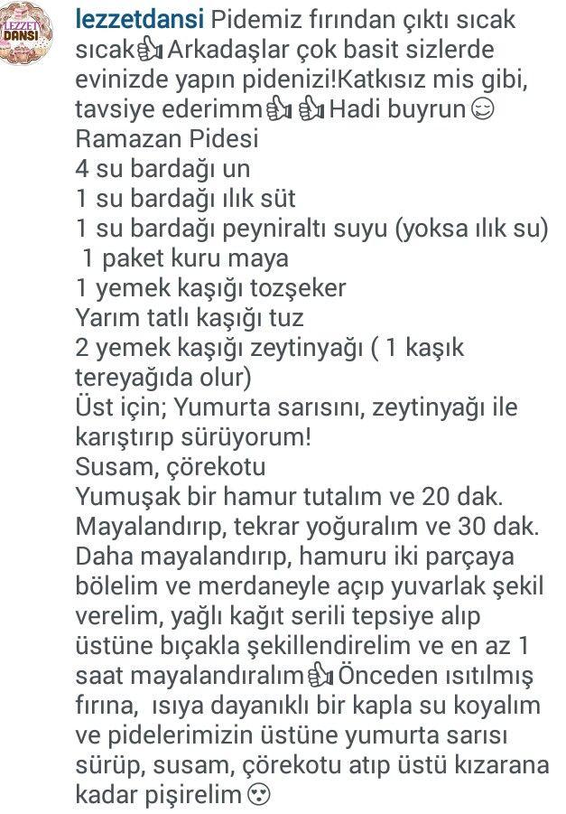 EV YAPIMI PİDE