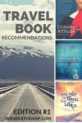 Travel Book Recommendations - Pinterest