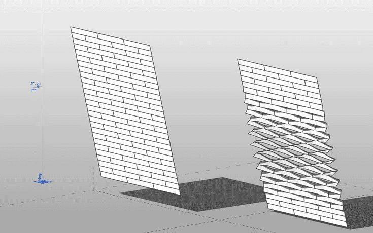 Undulating Siding Generative Forms Architecture
