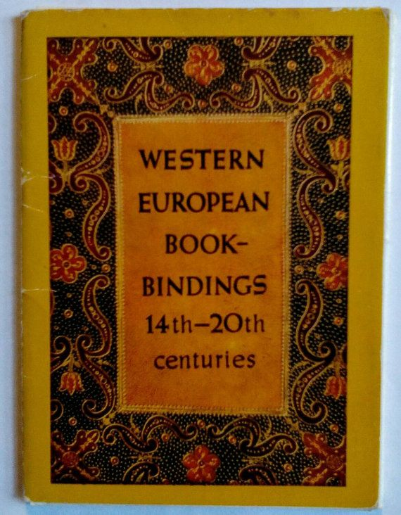 Western European Book Bindings 14th-20th centuries  by LucyMarket