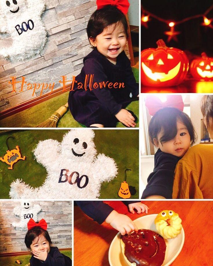 ハロウィン仮装キキに変身  #halloween #halloweencostume #kiki  #魔女の宅配便 #魔女宅#キキ  #ハロー赤ちゃん探検隊10月