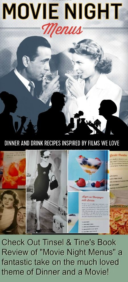 "If you love the concept of Dinner and a Movie, then you've gotta check out The Darlington's ""Movie Night Menus"""