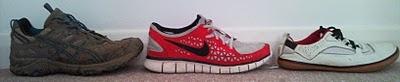 Devolution of shoes…