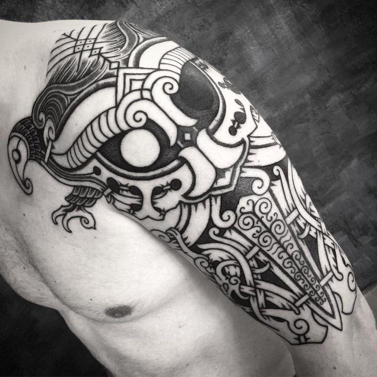 Neo Polytheist Germanic Pagan Tattoos Vikings Tattoos - 736×736
